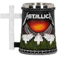 Metallica - Master of Puppets Tankard - кружка, лицензионная сувенирная продукция