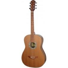 MiLena-Music ML-F3-NUT Акустическая гитара, цвет натуральный