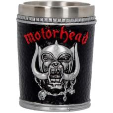 Motorhead Shot Glass 7cm 5.5x5.5x7 holds 50ml Сувенирная рюмка Motorhead, лицензионная сувенирная пр