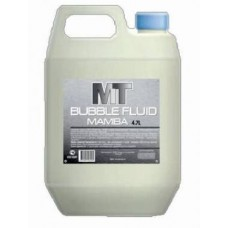 MT-MAMBA BUBBLE FLUID жидкость для мыльных пузырей. Канистра 4,7л.