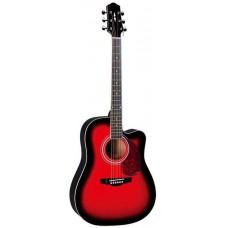 Naranda DG120C BS Акустическая гитара с вырезом