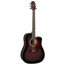 Naranda DG120C WRS акустическая гитара с вырезом