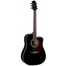 Naranda DG220C BK Акустическая гитара с вырезом