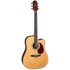Naranda DG220CE N Акустическая гитара со звукоснимателем, с вырезом