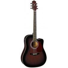 Naranda DG220CE WRS Акустическая гитара со звукоснимателем, с вырезом