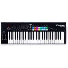 NOVATION Launchkey 49 MK2 миди-клавиатура с полноцветными пэдами