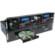 NUMARK CDN77USB, профессиональный двойной mp3/CD-плеер с поддержкой двух USB-накопителей, функциями