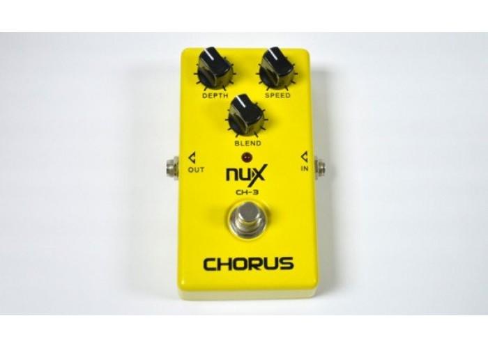 NUX CH-3 - педаль эффектов Vintage Chorus