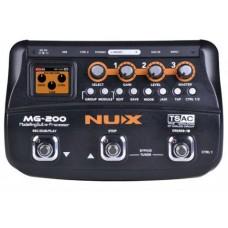 NUX MG-200 - гитарный процессор эффектов