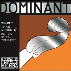 THOMASTIK 129SN Dominant Отдельная струна Е/Ми для скрипки размером 4/4, сред. натяж, съемный шарик
