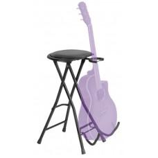 OnStage DT7500 - стул гитариста с подставкой для гитары.