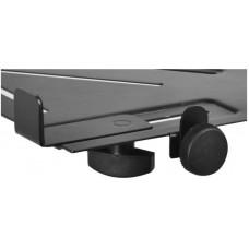 OnStage MSA5000 - подставка под ноутбук, крепится к микрофонной стойке, цвет черный