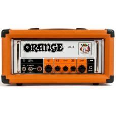ORANGE OR15H ламповый гитарный усилитель 'голова', 15 Вт, класс A