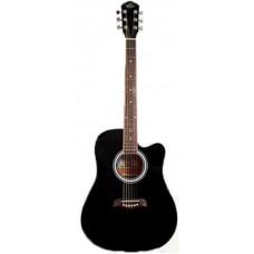 Oscar Schmidt OD45CBPAK акустическая гитара Dreadnought, Black