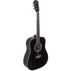 Oscar Schmidt OD50B акустическая гитара Dreadnought, Black