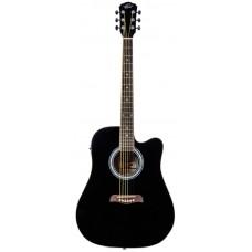 Oscar Schmidt OD50CEB электроакустическая гитара Black