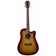 Oscar Schmidt OD50CETS электроакустическая гитара Tobacco Sunburst