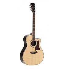 Parkwood GA88 NAT Электроакустическая гитара, с вырезом, с чехлом