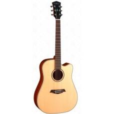 Parkwood S26-GT Электроакустическая гитара, дредноут с вырезом, с чехлом, глянец