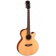 Parkwood S27-GT Электроакустическая гитара, с вырезом, с чехлом, глянец