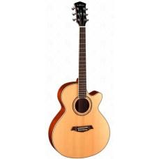 Parkwood S67 - Электроакустическая гитара, с вырезом, с чехлом