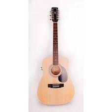 Parkwood W81-12E OP Электроакустическая гитара 12-струнная с чехлом