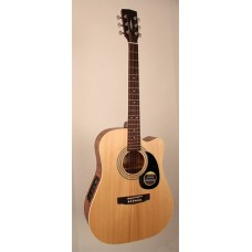 Parkwood W84FM OP - Электроакустическая гитара, с вырезом