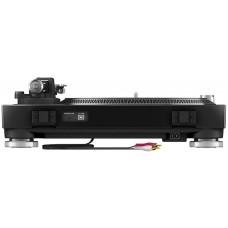 Pioneer PLX-500-K- Виниловый проигрыватель с линейным входом и прямым приводом черного цвета