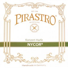 PIRASTRO 572120 NYCOR MEDIUM Струна E (2 октава) для арфы, нейлон