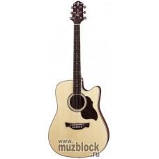 CRAFTER DE-8/N +Чехол - электроакустическая гитара