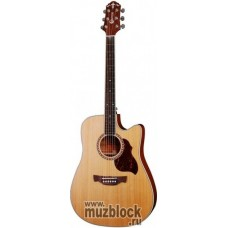 CRAFTER DTE-7/N +Чехол - электроакустическая гитара