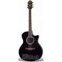 CRAFTER GAE-8/BK + Чехол - электроакустическая гитара