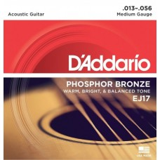 D'ADDARIO EJ17 - струны для акустической гитары