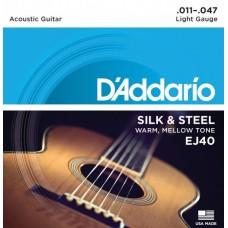 D'ADDARIO EJ40 - струны для акустической гитары ФОЛК