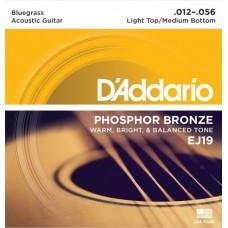 D'ADDARIO EJ19 - струны для акустической гитары