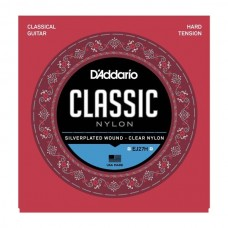 D'ADDARIO EJ27H - струны для классической гитары, сильное натяжение, Student Classics