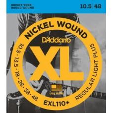 D'ADDARIO EXL110+ - струны для электрогитары