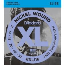 D'ADDARIO EXL116 - струны для электрогитары