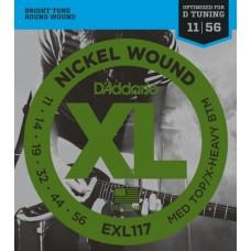 D'ADDARIO EXL117 - струны для электрогитары