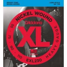 D'ADDARIO EXL230 - струны для бас-гитары
