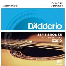 D'ADDARIO EZ910 - струны для акустической гитары