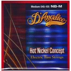 D`ANGELICO DA-NB-M - струны для  бас-гитары