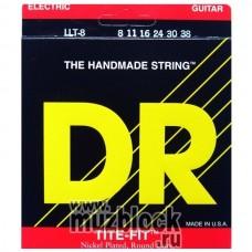 DR LLT-8 - серия TITE-FIT - струны для электрогитары