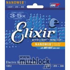 ELIXIR 12052 - струны для электрогитары Anti Rust