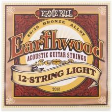 ERNIE BALL 2010 - струны для 12-струнной гитары
