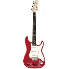FENDER SQUIER STANDARD STRATOCASTER MN CANDY APPLE RED - электрогитара