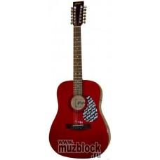 FLIGHT W 12701/12 RD - 12 струнная гитара