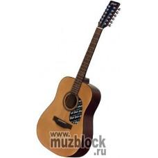 FLIGHT W 12701/12EQ NA - 12 струнная гитара