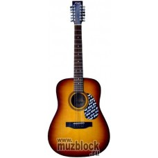 FLIGHT W 12701/12EQ VS - 12 струнная гитара