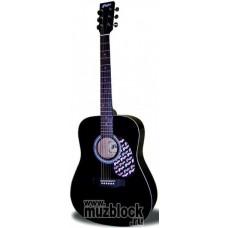 FLIGHT W 12701EQ BK - электроакустическая гитара